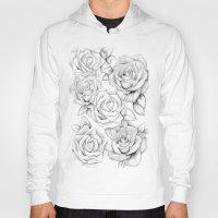 roses Hoodies featuring roses by iphigenia myos