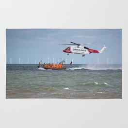 Rhyl Air Sea Rescue Rug