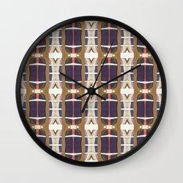 Think Plaid Wall Clock