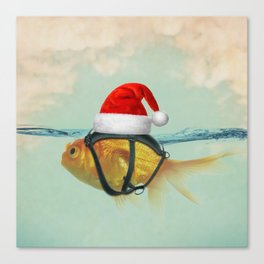 A Brilliant Disguise Christmas Canvas Print