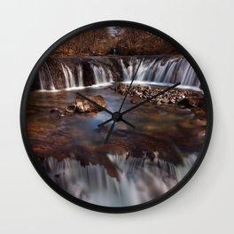 Sgwd y Bedol, South Wales Wall Clock
