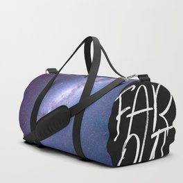 Star Strike in Space (Milky Way Band) Duffle Bag
