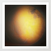 planet Art Prints featuring Planet by Daniela