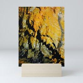 Lava tube cave Mini Art Print