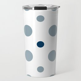 Pattern Play: Polka Dots Travel Mug