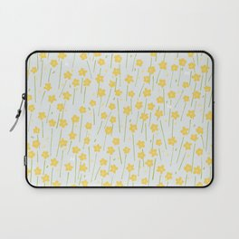 Buttercup Field M+M Evergreen by Friztin Laptop Sleeve