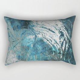La Mujer y el Aire Rectangular Pillow