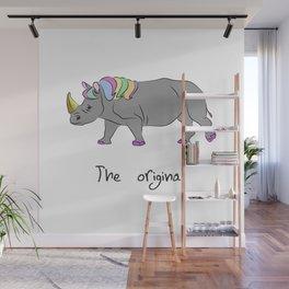 unicorhino - the original Wall Mural