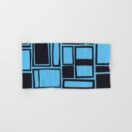 Windows & Frames - Blue Hand & Bath Towel