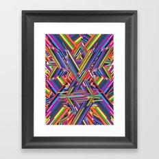 The Shattering Framed Art Print