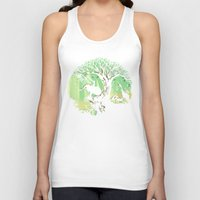 jungle Tank Tops featuring The jungle says hello by Picomodi