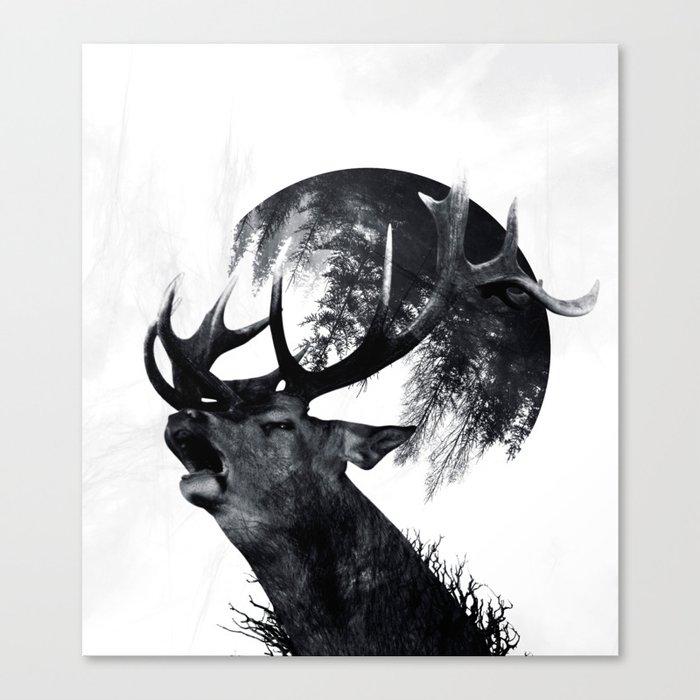 oh my world Canvas Print