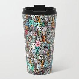 Gemstone Cats Travel Mug