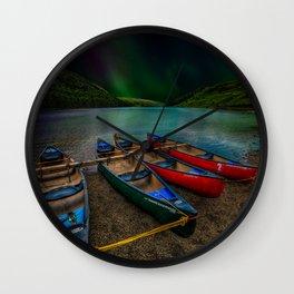 Lake Geirionydd Canoes Wall Clock