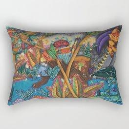 The Rising Darkness Rectangular Pillow