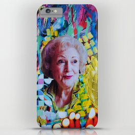 Betty White iPhone Case
