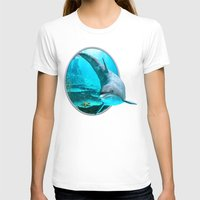 dolphin T-shirts featuring Dolphin by Simone Gatterwe