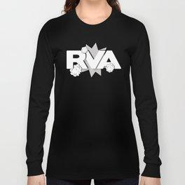 Rva Logo | ' Comic 2 Style ' Long Sleeve T-shirt