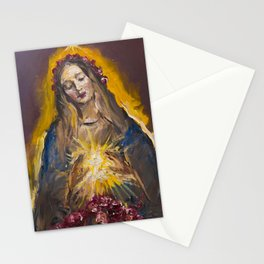 The Mystic Rose Stationery Cards