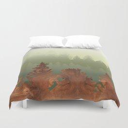 Treescape Green Duvet Cover