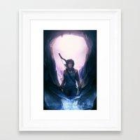 tomb raider Framed Art Prints featuring Tomb Raider: Definitive Edition by Caleb Thomas