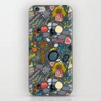 et iPhone & iPod Skins featuring ET! by Chris Piascik