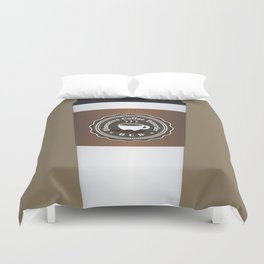 Obsessive Coffee Disorder Duvet Cover
