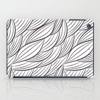 house stark iPad Cases featuring Stark Waves by SonyaDeHart