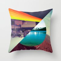 prism Throw Pillows featuring Prism by Kevin Copp