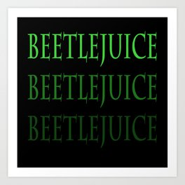 Beetle... Art Print
