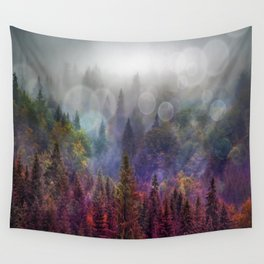 Four Seasons Forest Wall Tapestry