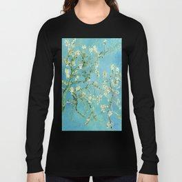 Vincent Van Gogh Almond Blossoms Long Sleeve T-shirt