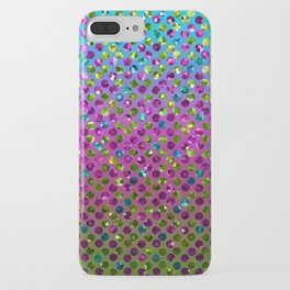 Polka Dot Sparkley Jewels G377 iPhone Case