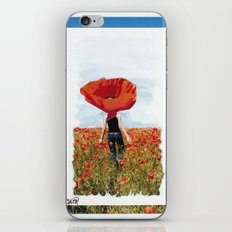 Poppy Feeling iPhone & iPod Skin