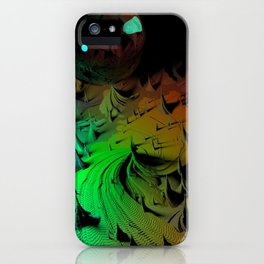 Low Glass Moon iPhone Case