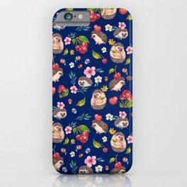 Hedgehog with cherries - BBG iPhone Case