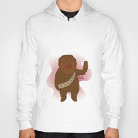 chewbacca Hoodies featuring chewbacca by Lalu - Laura Vargas