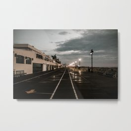 a muggy sunrise Metal Print