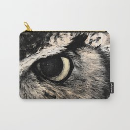 Eye Of The Owl Carry-All Pouch