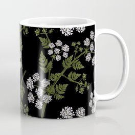 Hemlock Flower Pattern Coffee Mug