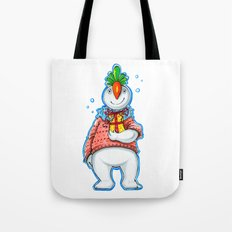 Your Neighbour Snowman Tote Bag