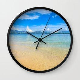Cowrie Island Wall Clock