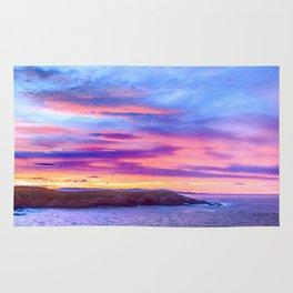 Biscay Bay sunset Rug