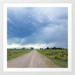 Open Roads Art Print