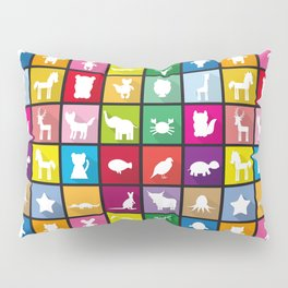 silhouettes of animals Pillow Sham