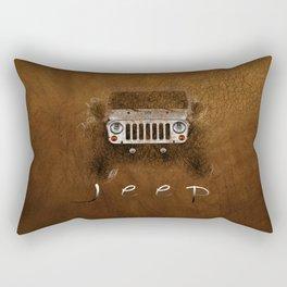 Jeep Abstract Rectangular Pillow
