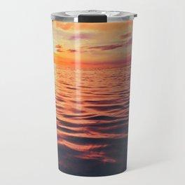 Maldivian sunset 3 Travel Mug