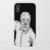 werewolf iPhone & iPod Cases featuring Werewolf by Pedro Santasmarinas
