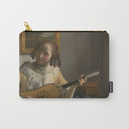 """Johannes Vermeer """"The Guitar Player"""" Carry-All Pouch"""