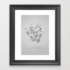Penrose Manifold Framed Art Print